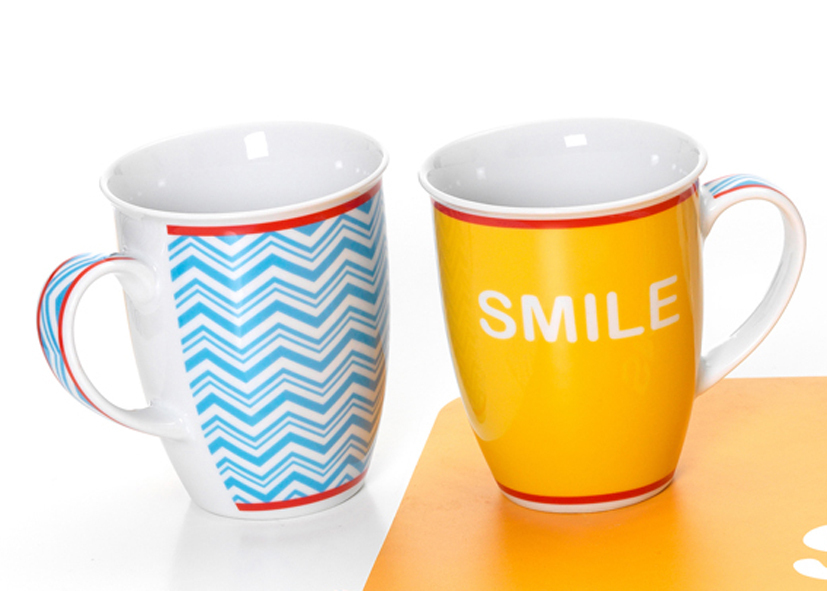 Mug Giallo Smile 320ml - Cod 08 12 65