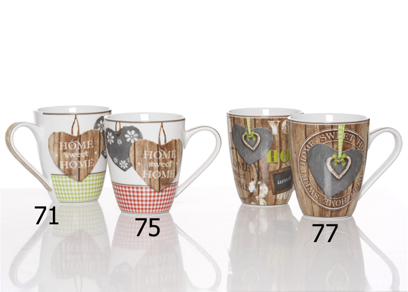 Maxi Mug Country Home Verde 450ml - Cod 08 12 71