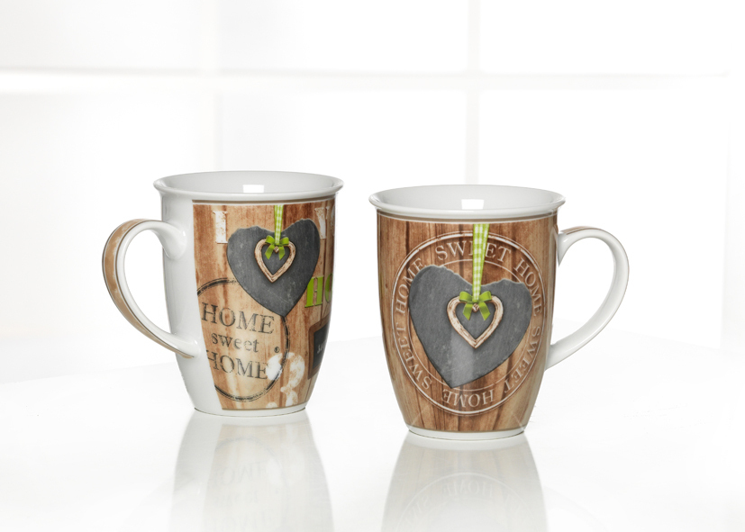 Mug Madera Assortito 320ml - Cod 08 12 76
