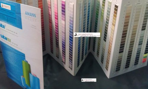 COLOUR CARD AMANN SABA c - SABATEX THREADS MACHINE