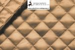 QUILTED LINING FABRIC CAMEL DESIGN RHOMBUS / CM 140