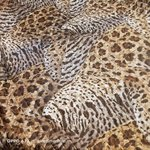 QUILTED FABRIC SILK 100% SPOTTED LIGHT DOUBLE SIDE MATCHED/CM 137