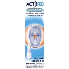 Actifed decongestionante spray